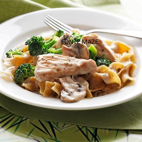 Make classic comfort food on a heart-healthy diet with this quick and easy turkey recipe.