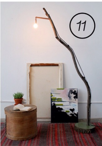 11. You can make a lamp :)