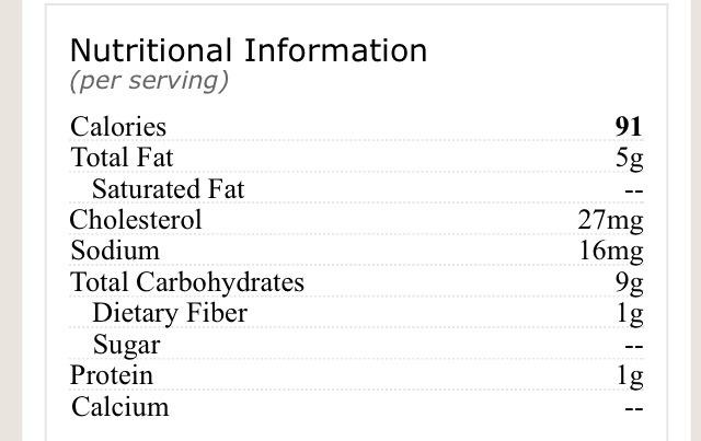 Nutrition Label ➰