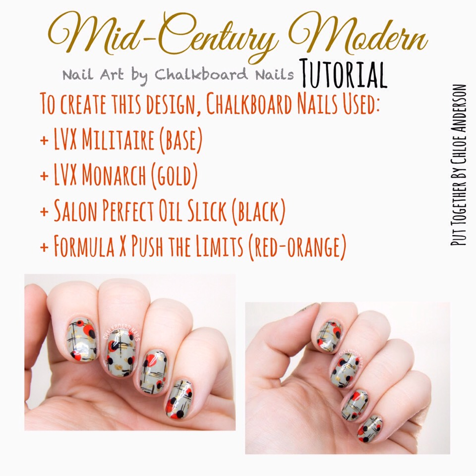 Here's the site to VISIT |www.chalkboardnails.com/2016/01/mid-century-modern-nail-art.html?m=1