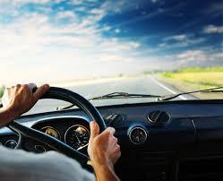 while driving, move your seat as far back as you can while still being able to touch yor pedals, this will help prevent speeding