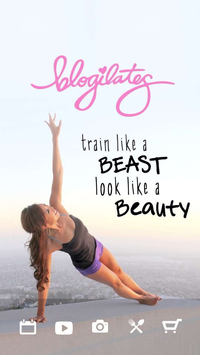 Get the Blogilates app by Casey Ho! It's free and She will train you, motivate you, give you recipes and so much more!?