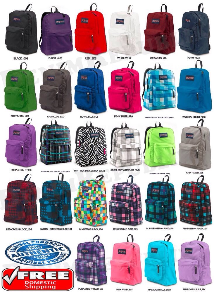Jansports back packs are just like a nice accessorie for a cute outfit! For school