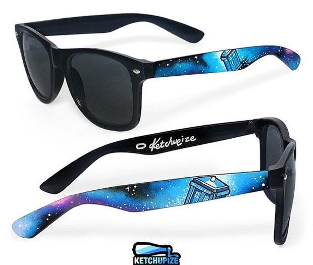 Tardis sun glasses