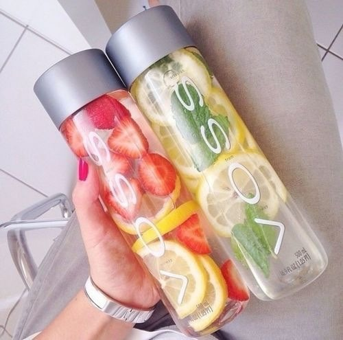 Feel free to make detox drinks.