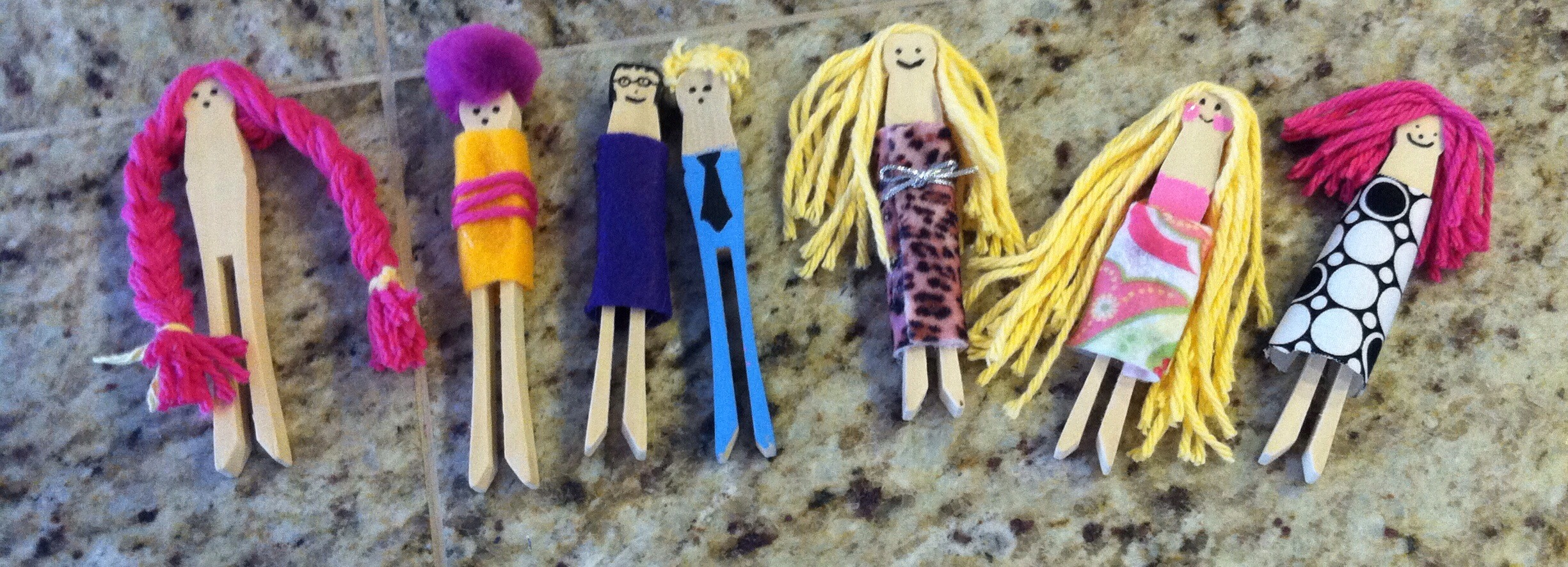 So easy and fun! Created some to look like family members and I was so suprised- my toddler was obsessed for months..