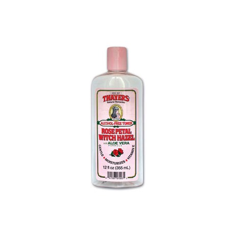 THAYER'S ALCOHOL-FREE ROSE PETAL WITCH HAZEL TONER  THE BEST PRODUCT FOR ACNE PRONED SKIN (WORKED FOR ME!)