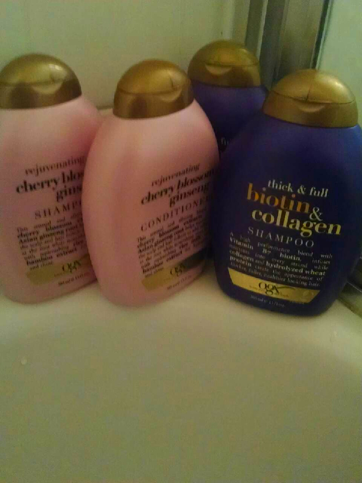 My first step was switching from harmful shampoos that strip my hair and not condition my hair at all and switching to OGX which is amazing! I condition every time and went from showering every day to every other day so I wouldn't dry my hair out.