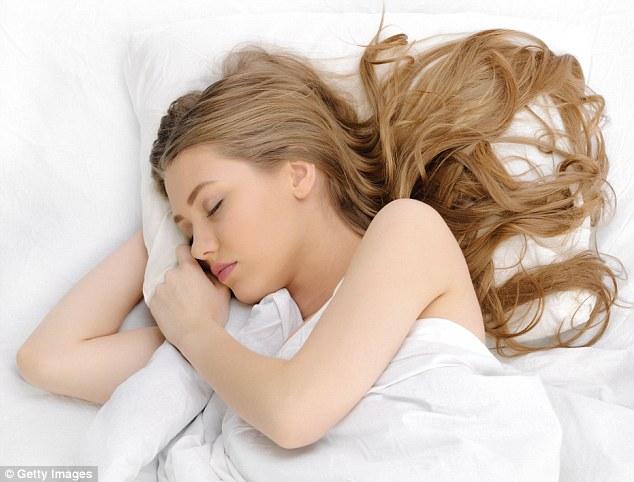 Now just sleep on your hair overnight!