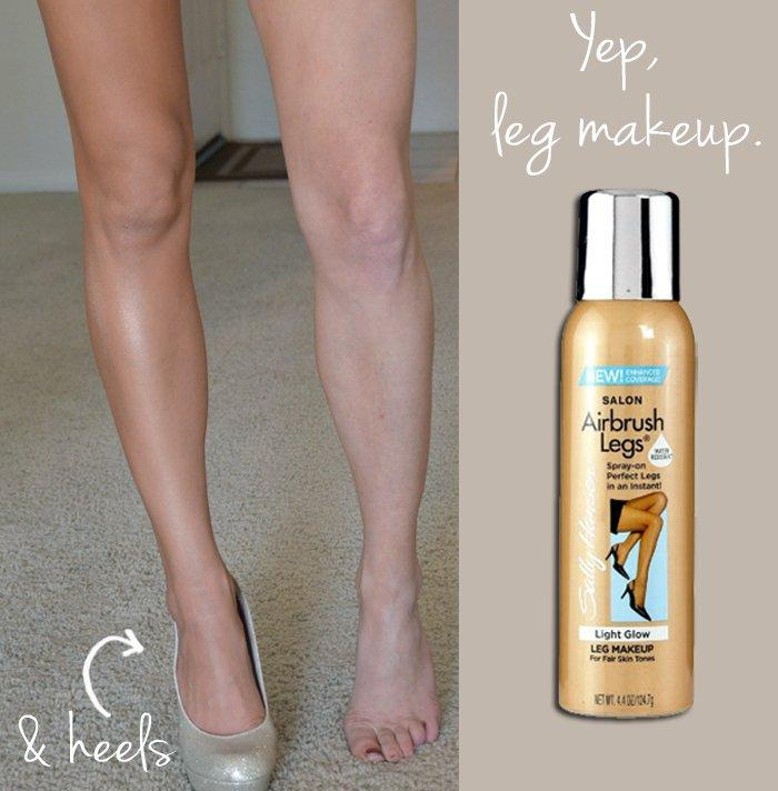 2. Foundation can migrate…Have you guys tried this stuff? It's amazing! It turns your legs into tan, smooth, shiny beams of light!Beware: can be EASILY misused though so here's what I do: