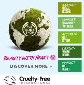 Why use the product besides the benefits it has? The body shop is against animal testing, supports community fair trade, runs a self esteem program, defends human rights and protects the planets natural resources.