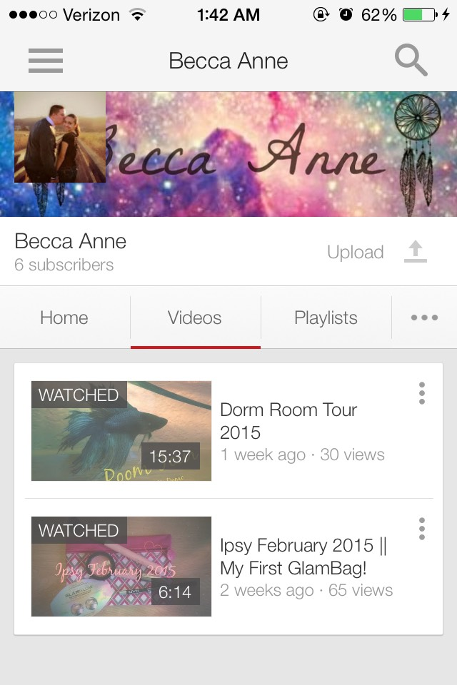 BONUS: My channel! It'll mean a lot if you subscribed! I am starting to do more DIYs, vlogs, and so much more fun stuff! :)