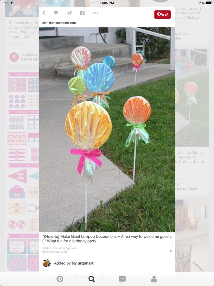 http://www.glorioustreats.com/2010/05/how-to-make-giant-lollipop-decorations.html