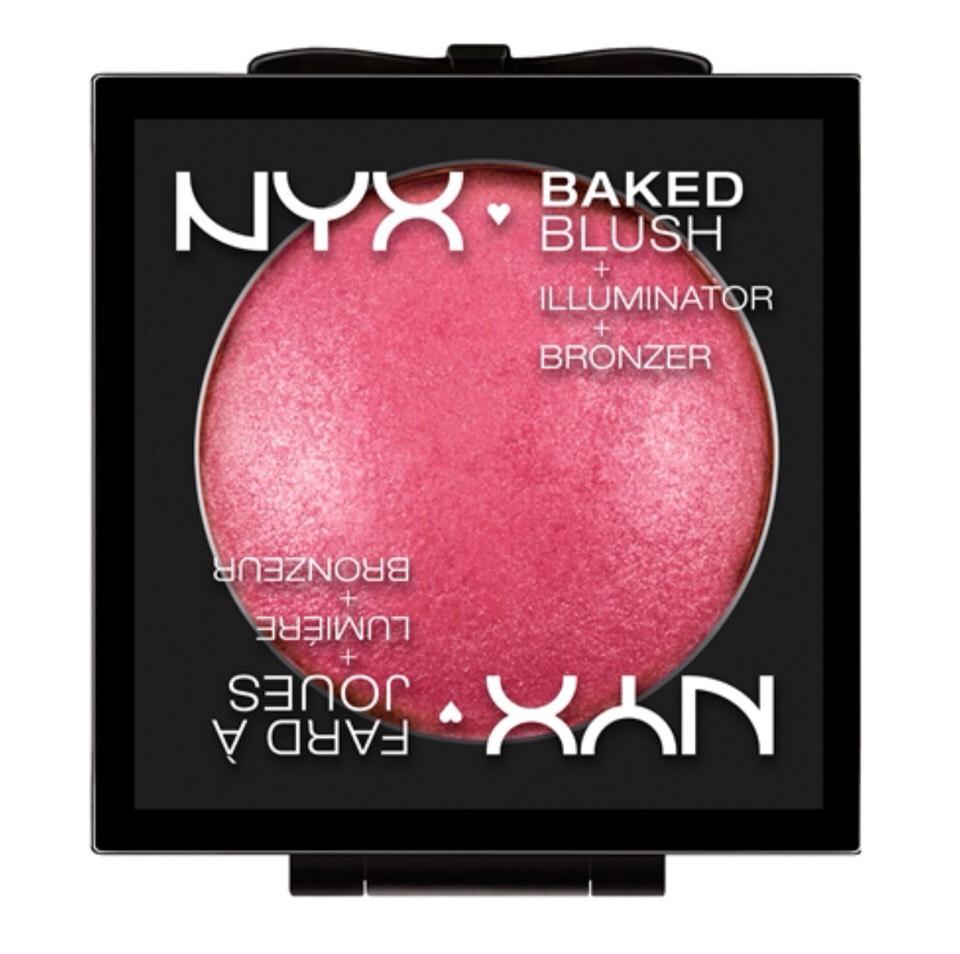 NYX- baked blusher