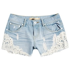 Every girl needs shorts with lace accents