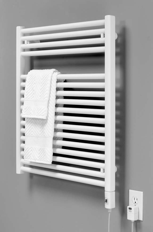 Put a warm soft towel on a radiator and spritz it with your favourite perfume. When you step out of the bath and use the towel to dry off, it will make you smell great.