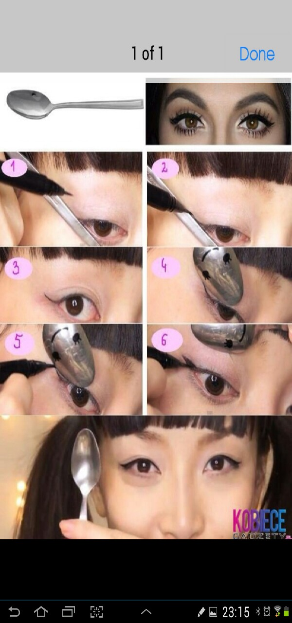 perfect eyeliner add and save and follow