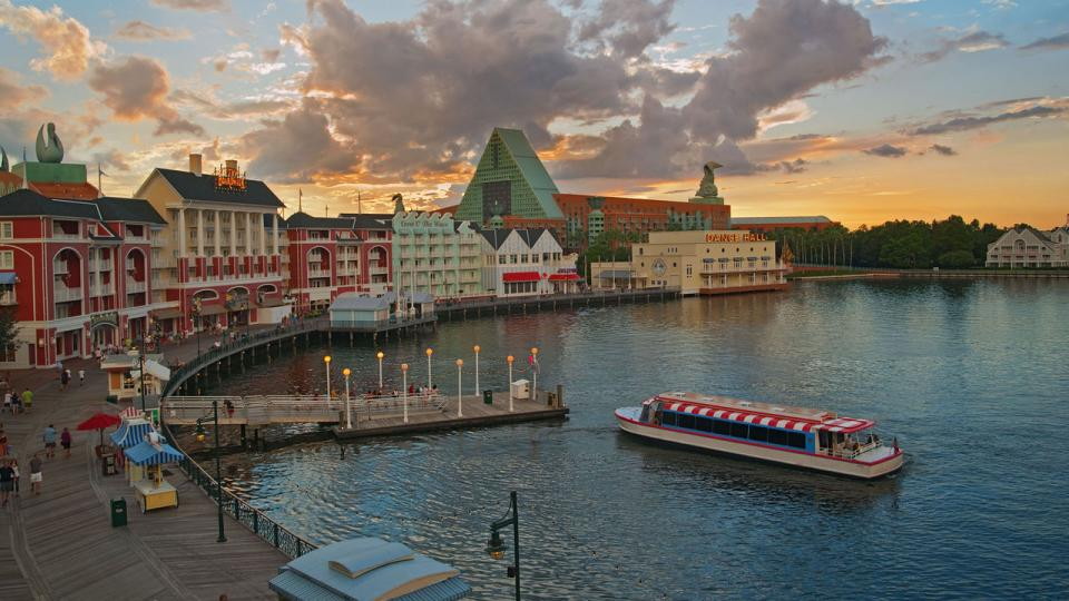 Visit Disney's BoardWalk: Step back to the 1920s with a quarter-mile promenade of shops, restaurants, midway games and street performers evoking Coney Island and Atlantic City. Stay till 9 pm for a view of Epcot's fireworks. Located in the Epcot resort area.