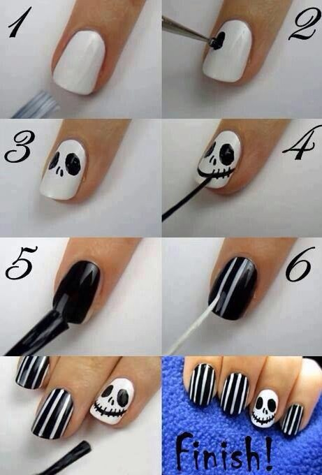 Black and white nail polish best nails 2018 black nail polish white design paint brush clear coat musely prinsesfo Images
