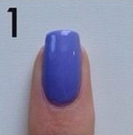 Step 1: paint nails a color of your choosing