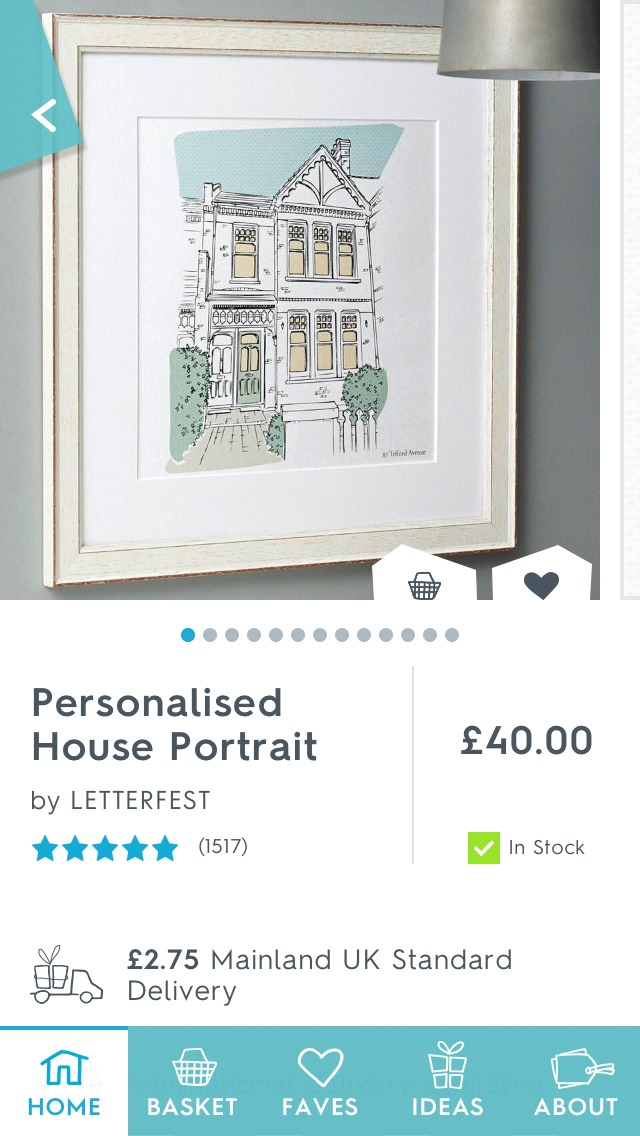 The house portrait is so cool and a great gift