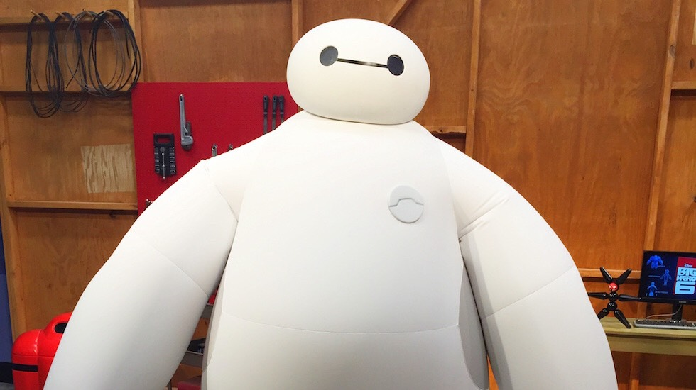 Baymax Located at in Future World