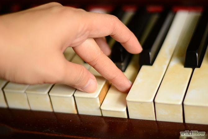 Your 5th finger should generally only be used for starting or ending a scale, not passing tones. In other words, you should cross your 1st finger under your 3rd or 4th finger, not the 5th.