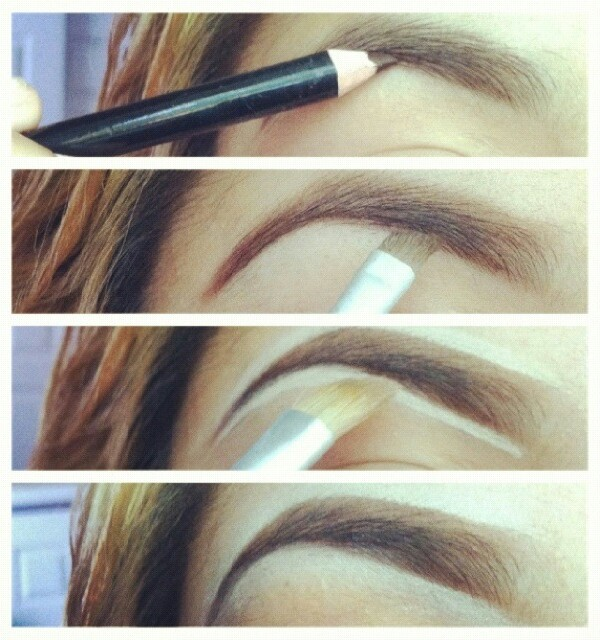 make sure you choose the right colour of eyeshadow or eyebrow pencil