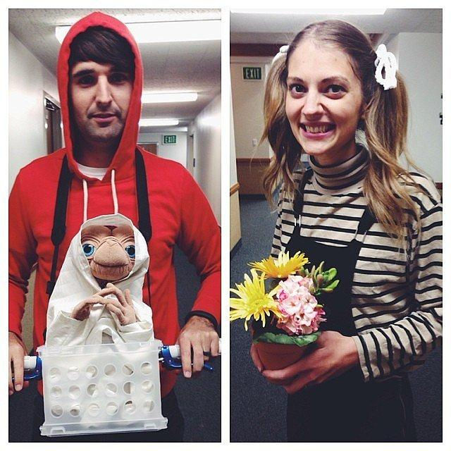 Gertie and Elliot From E.T.
