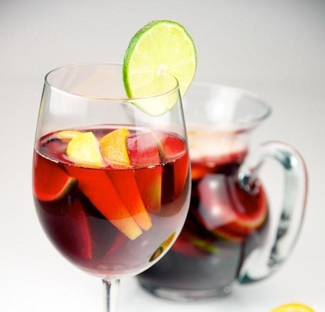 Sangria isn't just a summertime drink; it's an every time drink, and the perfect way to hide a horrible-tasting wine.