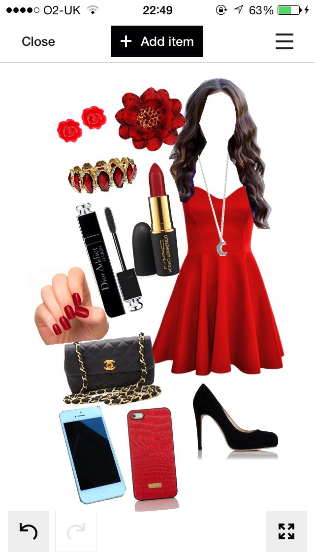 going anywhere classy? Have a date to attend? or maybe just a family meal or a small gathering with friends, this outfit has it all! While the Hot red goes with the darkest black you can look amazing any time, anywhere! Throw on some natural make up (not too much) to complete this outfit! Perfect!