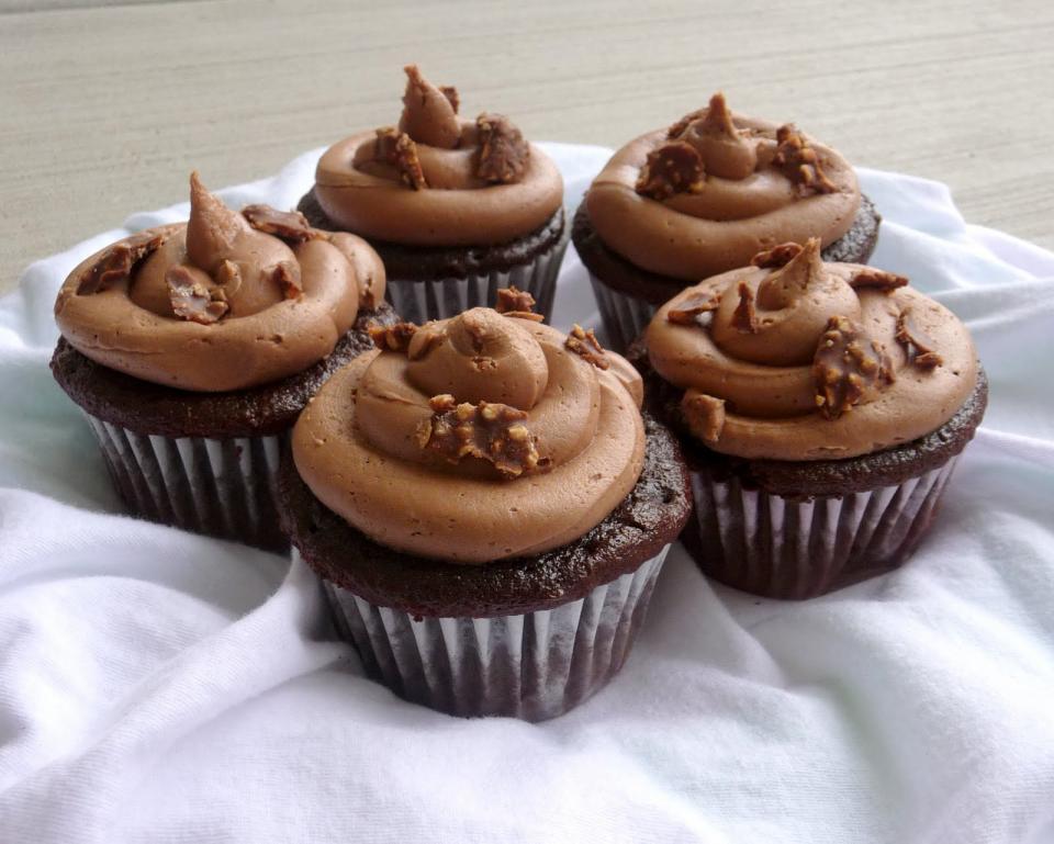 Nutella cupcake!