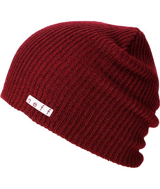 I absolutely love beanies! A nice fall colour like burgundy or a cream colour works best especially with curled hair.