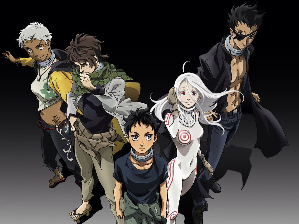 Deadman wonderland: people are put into dangerous activities for the amusement of others.