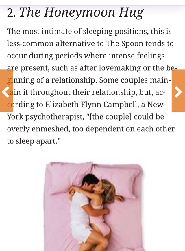 10 Couples Sleeping Positions What Your Position Says About Relationship