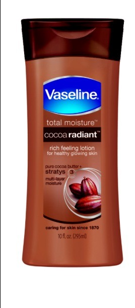 I find I can use this lotion on my face without it making it feel or look greasy.