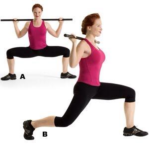 MOVE 1 Grand Plié Elvis Squat  SETS: 2REPS: 12 to 15REST: 30 seconds Works core, hips, glutes, hamstrings, quads, and calves