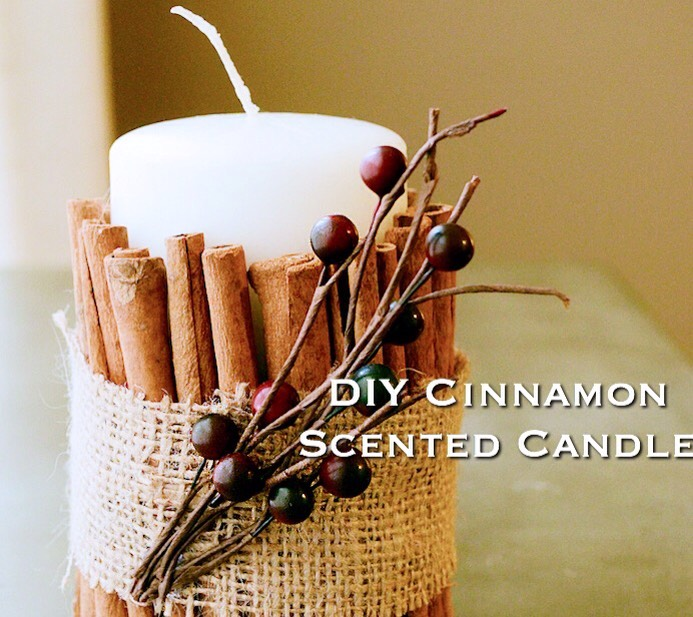 Taken From |   http://homemakingrebel.com/diy-cinnamon-scented-candle/