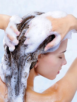 2. Wash your hair 3 times a week :)   Tip: I know your hair is probably used to getting cleaned everyday, so, first skip one day, and then 2, then three, etc. it will get your hair used to it :)