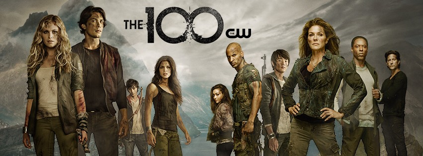 The 100 is a science fiction show but it isn't one of those weird and creepy ones. Everyone lives in space because of radiation but 100 teenagers are sent down to earth and you get to see all the troubles they face