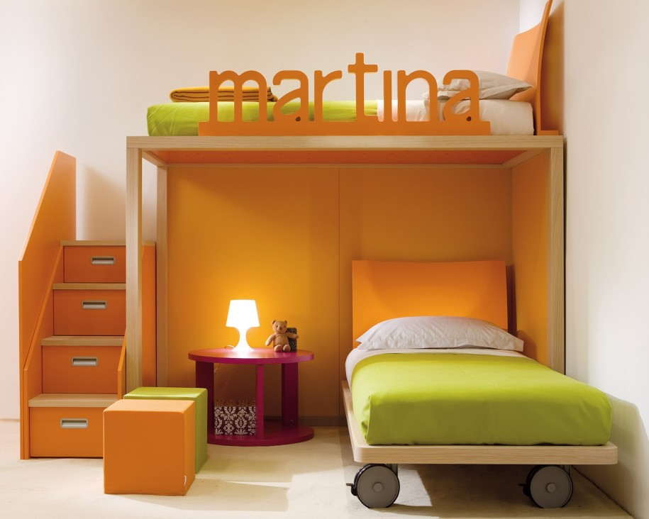 A good idea is that you could have your room personlised!
