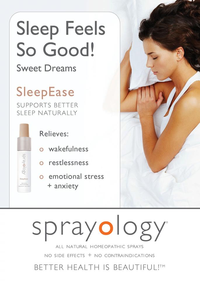 Get the best deep sleep naturally with our FDA regulated oral spray-SleepEase IT WORKS!