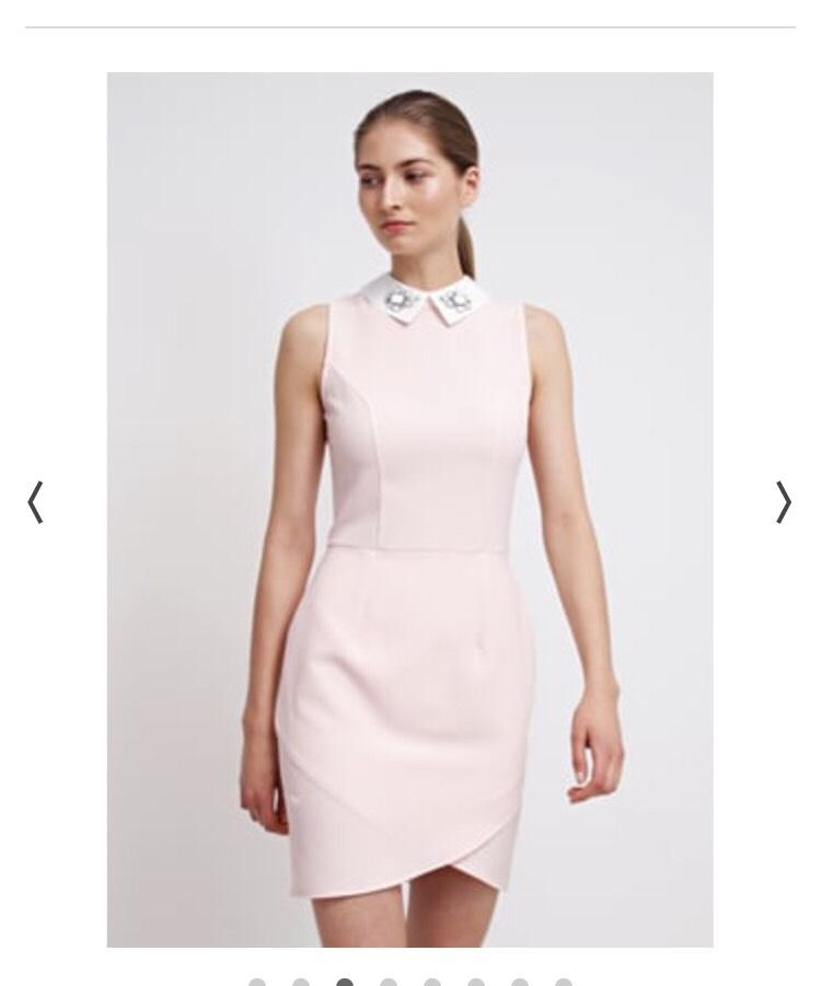 Dorothy Perkins pink blush dress £28.00