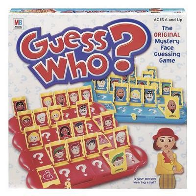 6.) guess who, I play This all the time with my friends it's really fun!