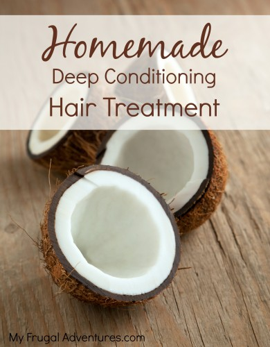 Want super soft, hydrated hair? This is one of my favorite all natural beauty tips. Use melted coconut oil as a deep conditioning hair and scalp treatment. Massage coconut oil into your scalp and then work it through your hair. Leave it on for a couple of hours and then wash it out using shampoo.