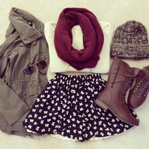 If you buy her an outfit try make it something like this so it can be changed to cool her down in the summer