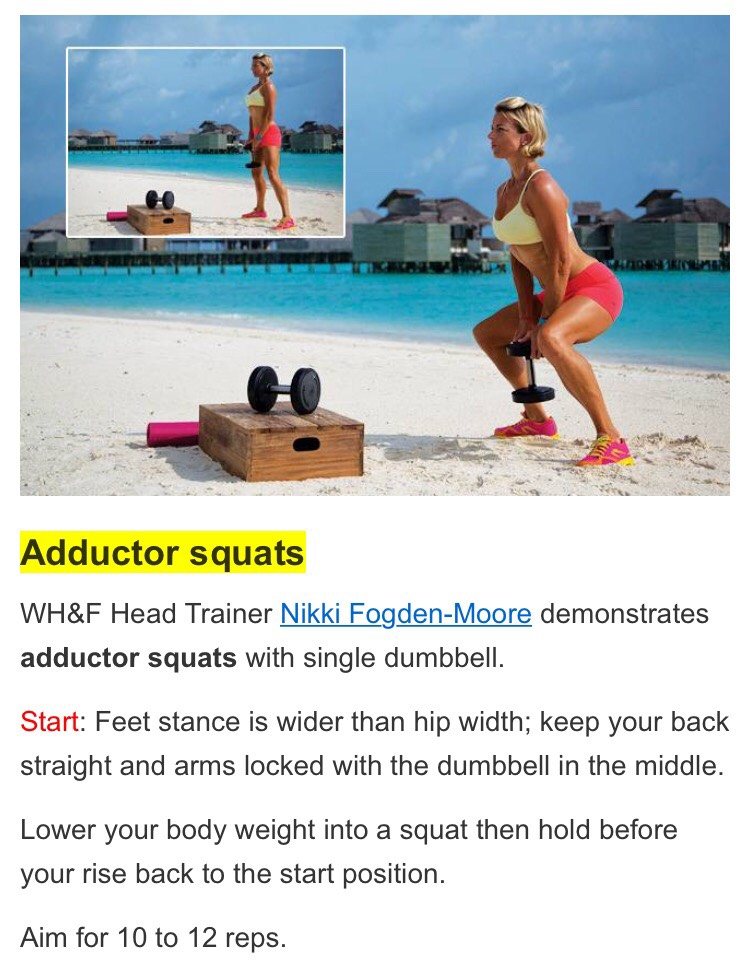 squats are amust ! so lets get some 25 more