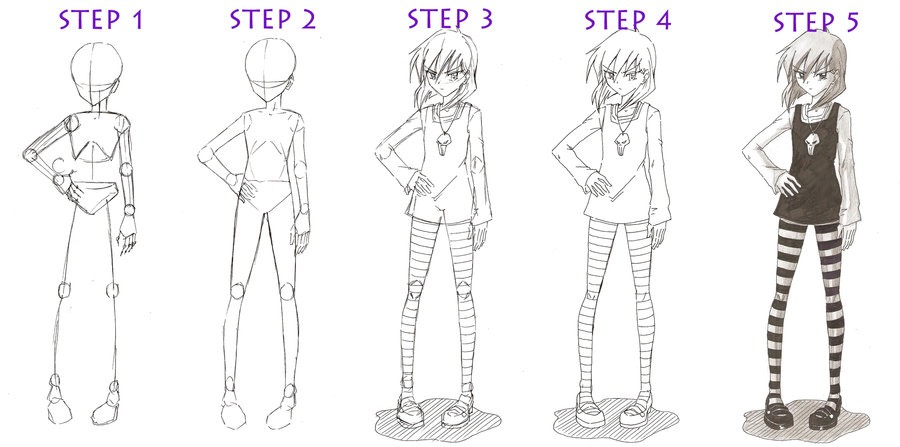 The Complete Guide On Drawing An Anime Girl By Emily Myers Musely