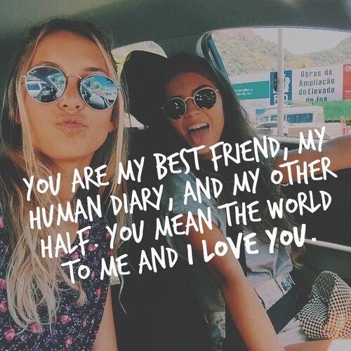 Best friend goals🙋