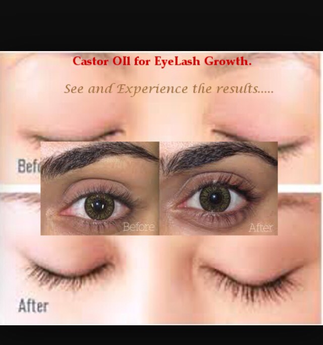 Castor Oil Makes Your Eyebrowseyelashes Grow By Cayla S Musely